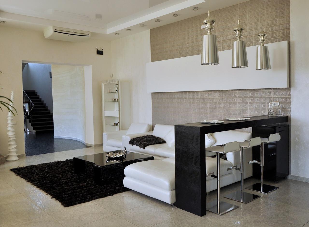 Дизайн барных стоек в зал квартиры